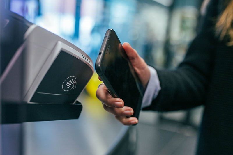 The advent of contactless payments allows people to exist without the need for cash.