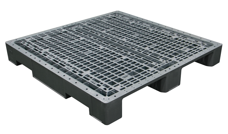 Plastic pallets are heat-moulded so they can maintain their strength and structure for longer.
