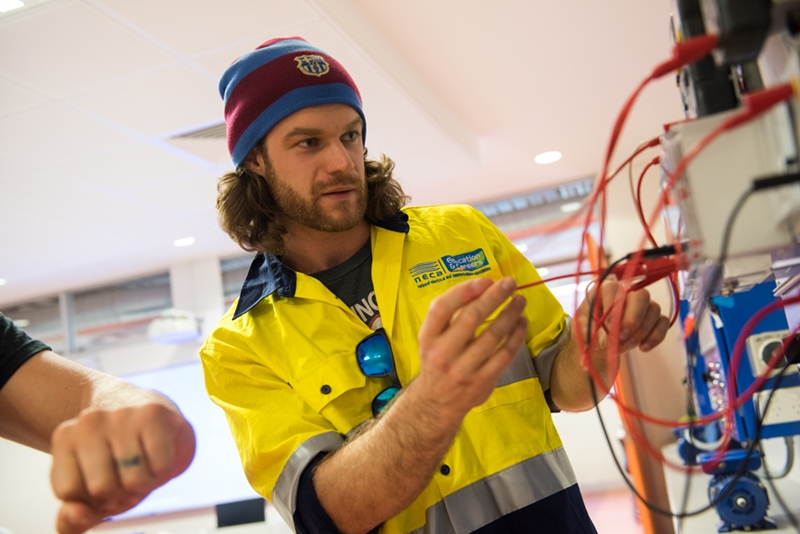 There are all sorts of different tasks that an electrician will face on a day-to-day basis.