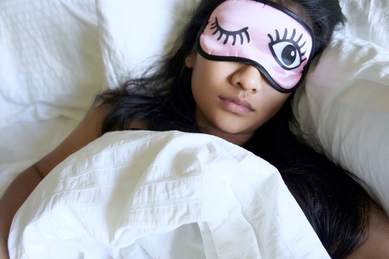 Get lots of sleep to boost your study time.