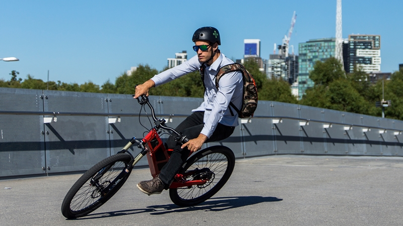 How will you use your P-7 electric bike?