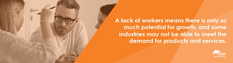 How can skills shortages impact industry?
