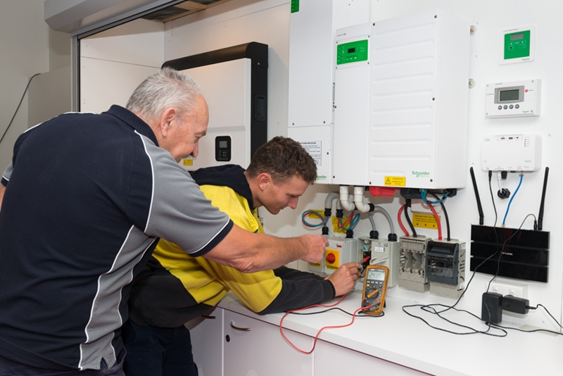 The most important step on the pathway to becoming a licensed electrician is completing an electrical apprenticeship.