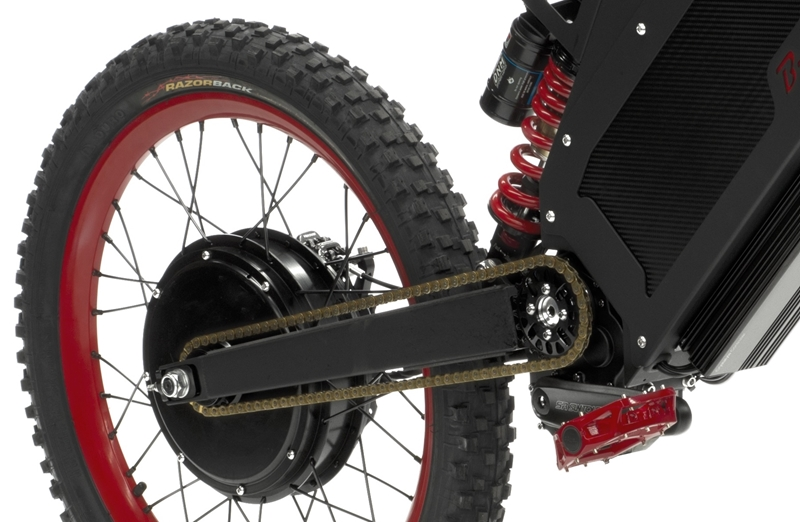 The B-52 is an electric bike built for speed and power.
