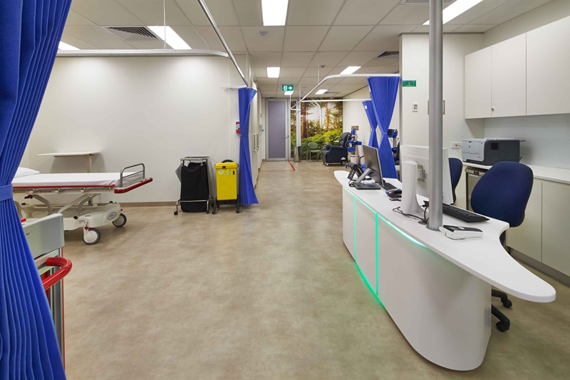 Improved internet connectivity could change the services offered within medical facilities, meaning spaces can be optimised.