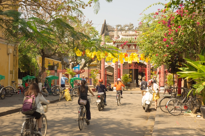 If you need an activity to do in Vietnam, explore Hoi An to soak in the history.