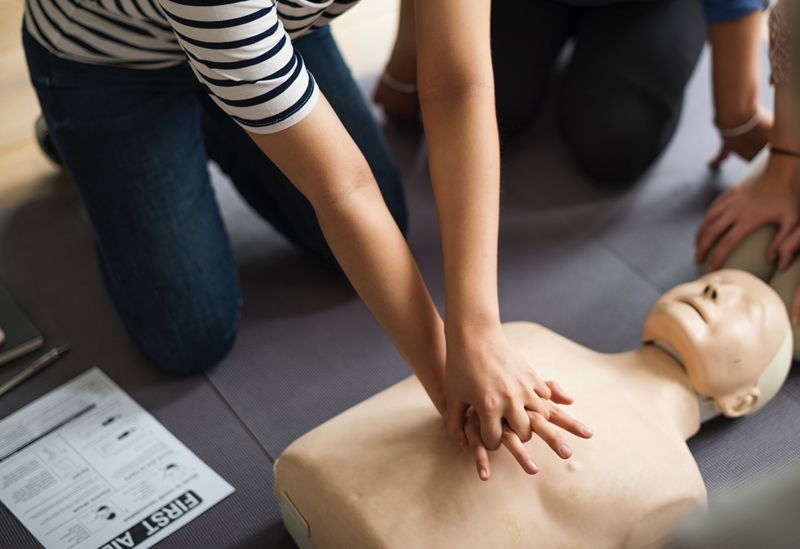 Train in crucial first aid skills with St John Ambulance professionals.