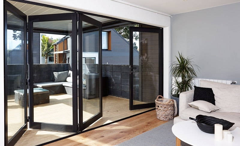 How to choose between bifold and sliding doors | Altus Window Systems