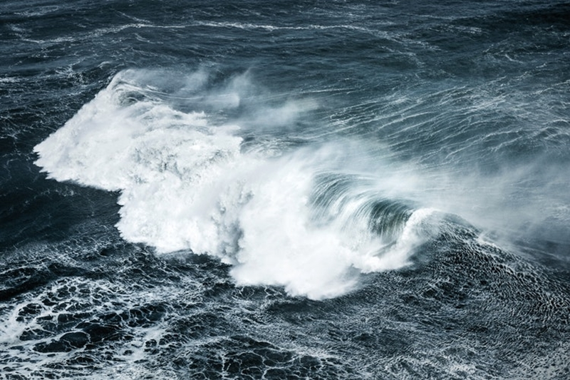 When boating in rough waters, you need to take extra precautions.