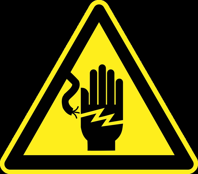 Make sure everyone is aware of electrical hazards.