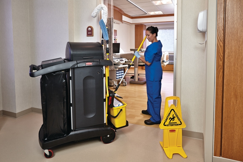 Any worthwhile hospital cleaning regimen involves five performance pillars: Training, Technique, Product, Audit and Communication