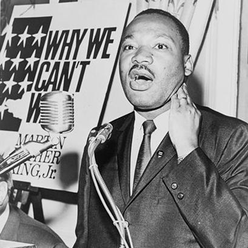 Like Martin Luther King, charismatic leaders should inspire change in their employees.