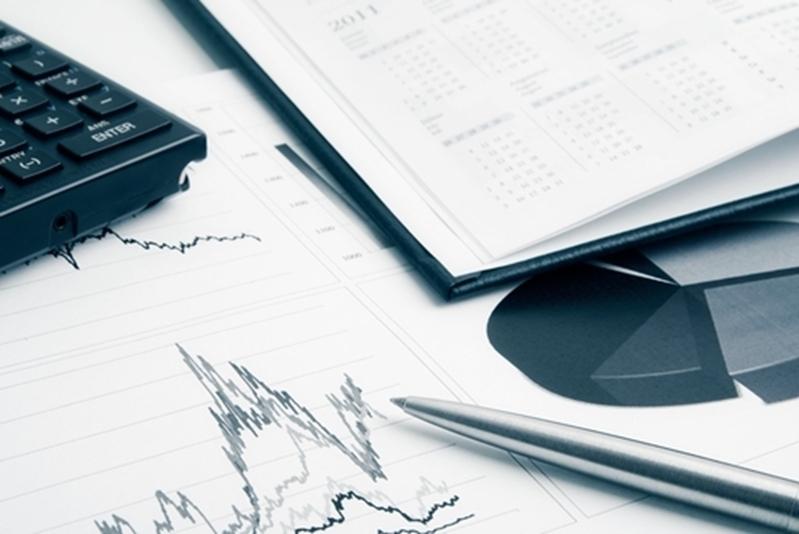 Business sales graphs using predictive analytics.